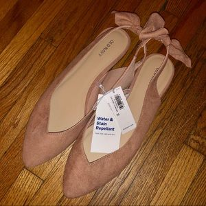 NWT Old Navy Suede Flats